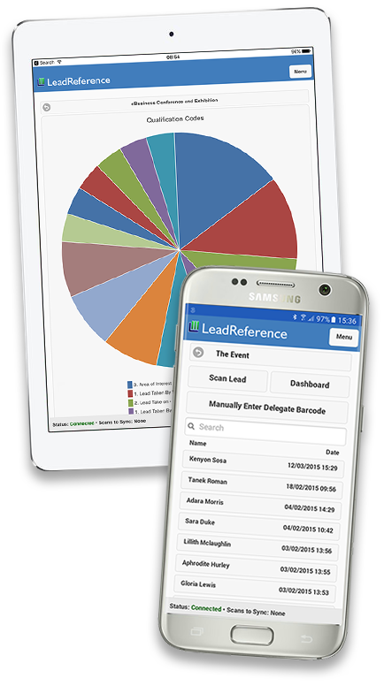 LeadReference App on mobile devices
