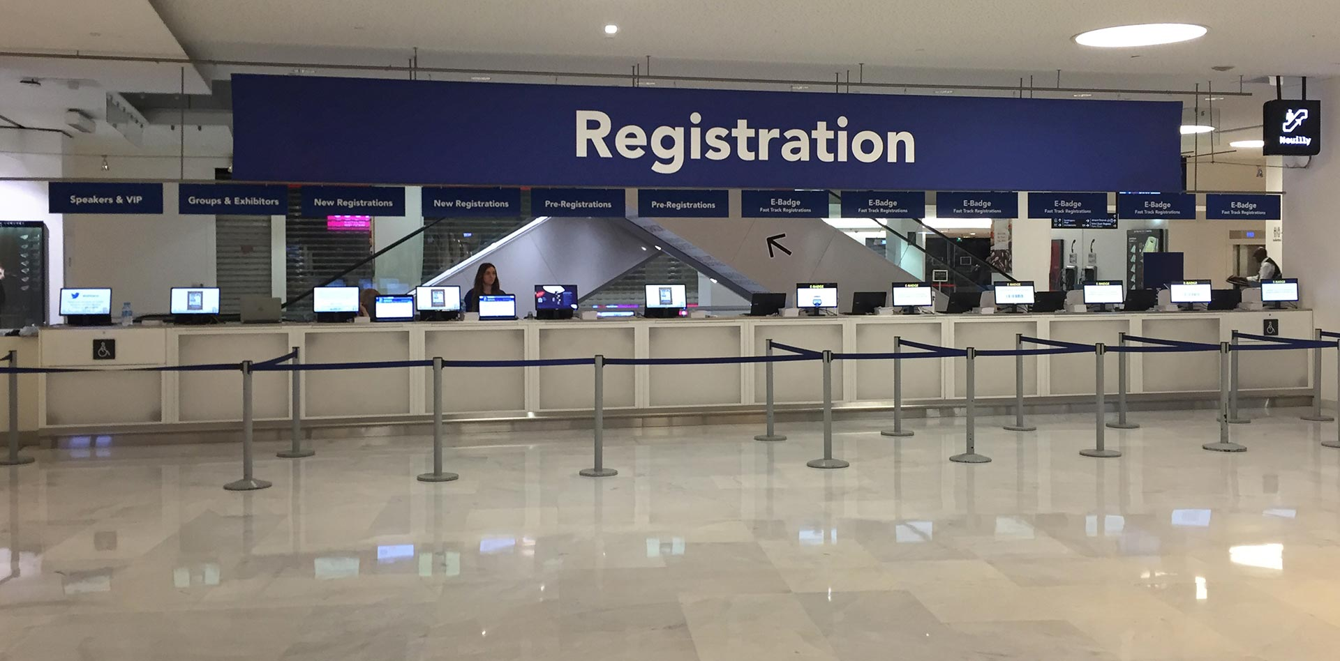 Registration and Badging for Conferences, Exhibitions and